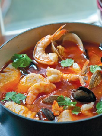 Fred's Slightly Twisted Bouillabaisse