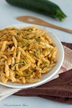 Trofie cremose con le zucchine, primo piatto facile e gustoso