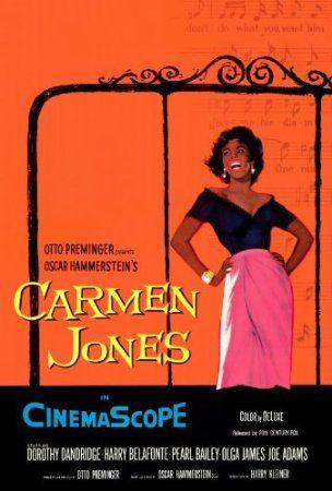 Carmen Jones Poster Movie 27 x 40 In - 69cm x 102cm Dorothy Dandridge Harry Belafonte Pearl Bailey Roy Glenn Diahann Carroll Brock Peters: A...