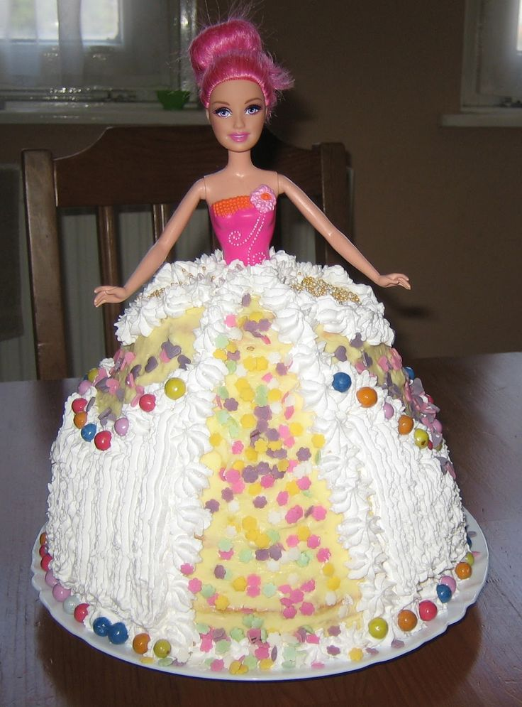 Csillagom: Barbie torta