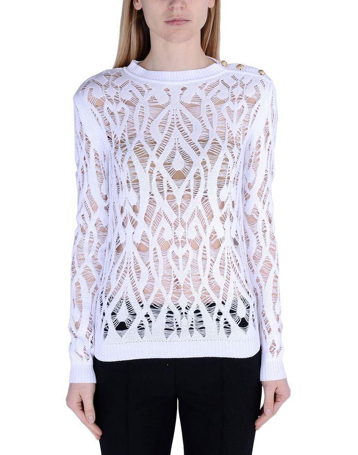 Balmain Long Sleeve Sweater Women - thecorner.com - The luxury online boutique…