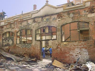 The old Wits Drill-hall , 95 Anderson Street Johannesburg