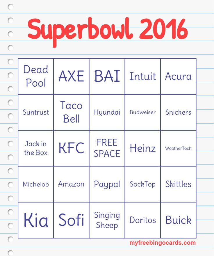 seuss bingo dr seuss 2016 bingo superbowl 2016 fun bingo super bowl ...