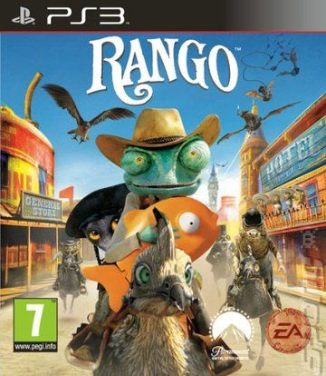 Covers & Box Art: Rango The Video Game - PS3 (1 of 1)
