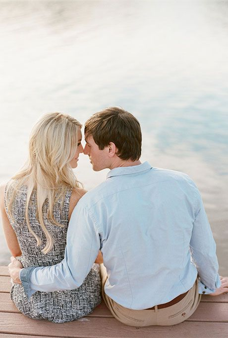Intimate engagement photo    #engagement #wedding  http://www.roughluxejewelry.com/