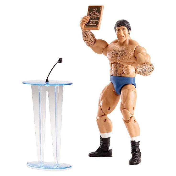 Wwe Elite Collection Bruno Sammartino Action Figure