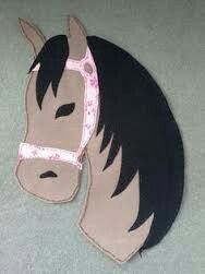 Applikation, Pferd