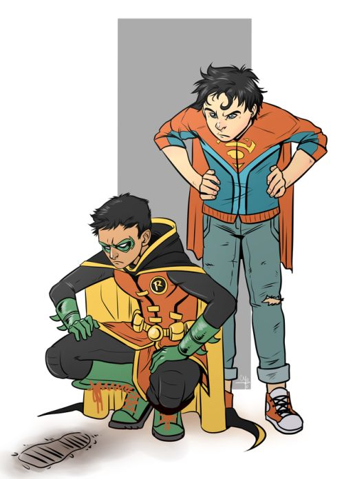 "mayhw: ""Super Sons ♥ """