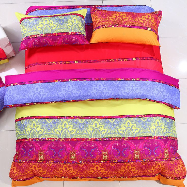 Find More Bedding Sets Information about 100% Cotton 3D bedding sets,Color bed sheet Bed Linen Duvet Cover/Comforter bedding set,sabanas,Conjuntos roupa de cama Queen ,High Quality sheet tab,China linens uk Suppliers, Cheap linen vest from Fashion home textile on Aliexpress.com