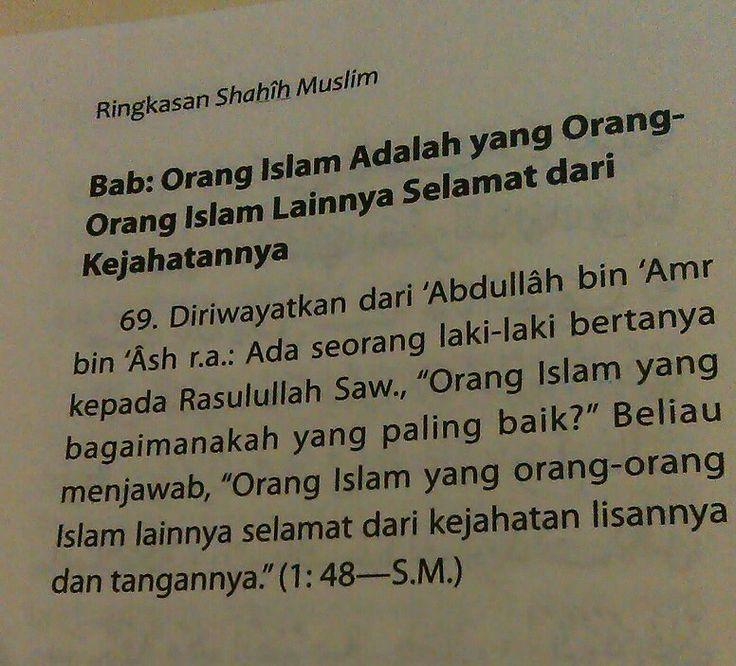Orang Islam Yang Paling Baik