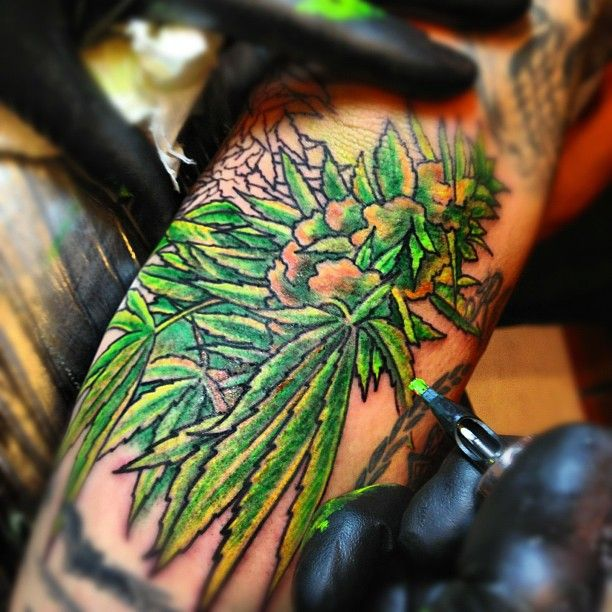 31 best stoner tattoos images on pinterest tattoo ideas for Weed tattoo images