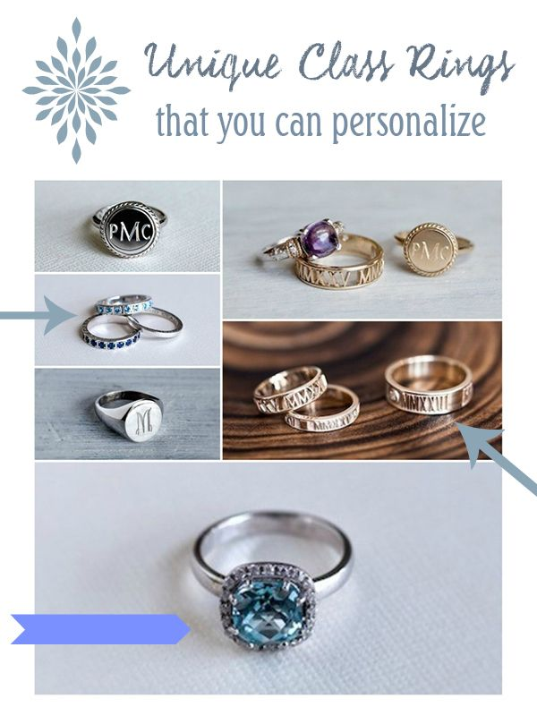 Unique High School Class Rings that Kids will Treasure for Years  #ringspiration #ad