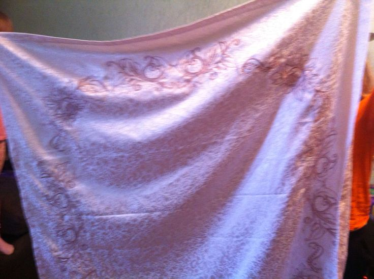 Скатерть вышивка