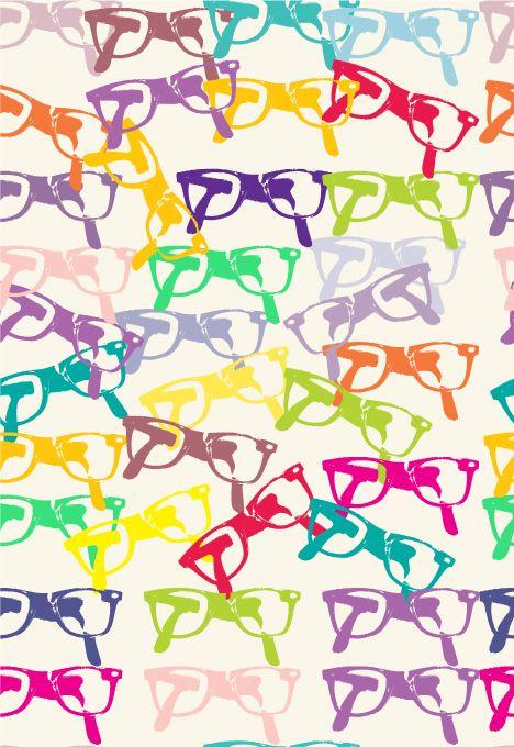 """A Hiena Estilosa"" blog (background pattern) via  The Little White Book of Surface Pattern Designers blog"