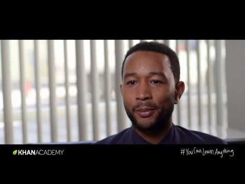Show this to older students! John Legend: Success through effort --Why failing matters on the road to success