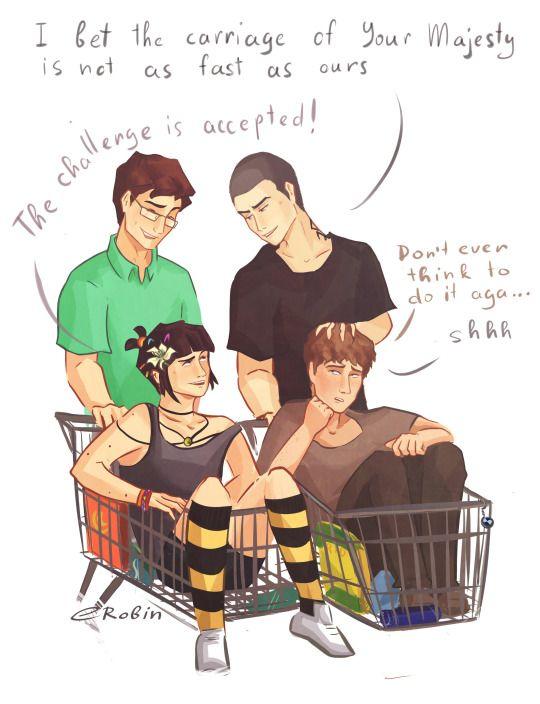 Shopping cart racing?