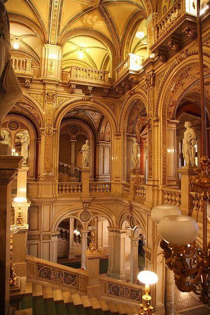 Beautiful Places...The State Opera House, Vienna, Austria, photo by Thomas, tom*quah via Flickr.