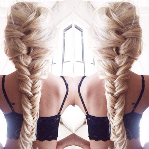 think fishtail braid | reminds me of Elsa or Rapunzel's braids