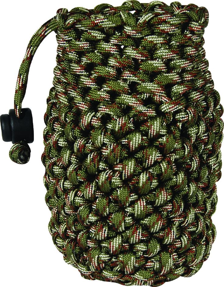 #Paracord Bag Can Koozie for Drinks and #Survival 280-lb Cord 108ft in Length #prepper