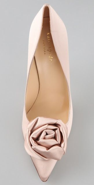 Satin rose ~ Kate spade - loooooooove this shoe!!!!!!