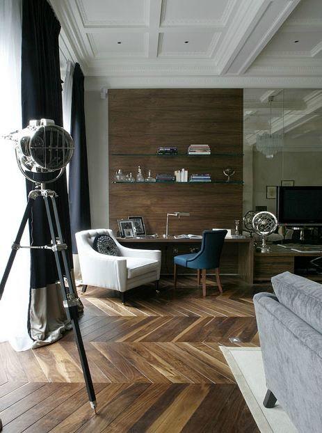 Herringbone floor, Casa Forma London