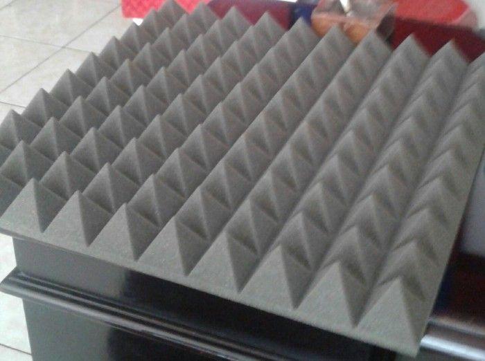Jual Busa Piramid Foam Bahan Peredam Suara Akustik Pada Ruangan