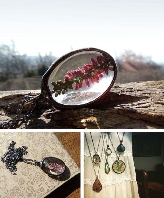 terrarium necklace, terrarium necklaces, mariaela, boho, gypsy, wedding, bridesmaids necklaces, suncather, heather necklace