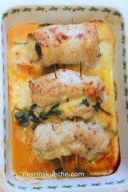 Putenroulade, geflügel fleisch, türkische Küche