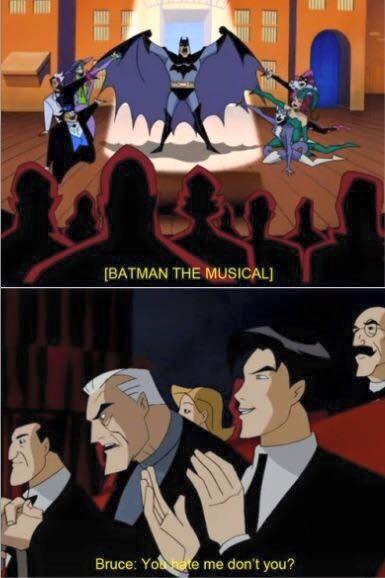 ah Bruce. Always the pranksters