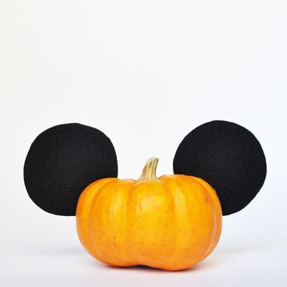 If you're looking for quick, affordable, and simple Halloween crafts, these Disney pumpkins are just what you need. Skip the jack-o'-lanterns and decorate one of these tiny pumpkins instead!