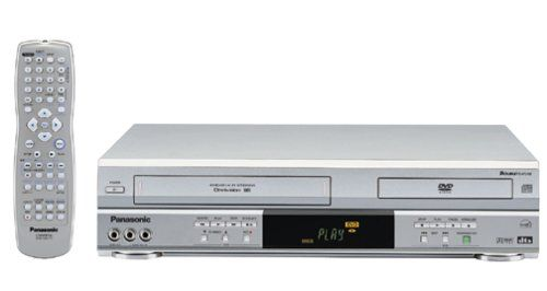 panasonic pv d4743s progressive scan dvd vcr combo silver sale up to 70 off television. Black Bedroom Furniture Sets. Home Design Ideas