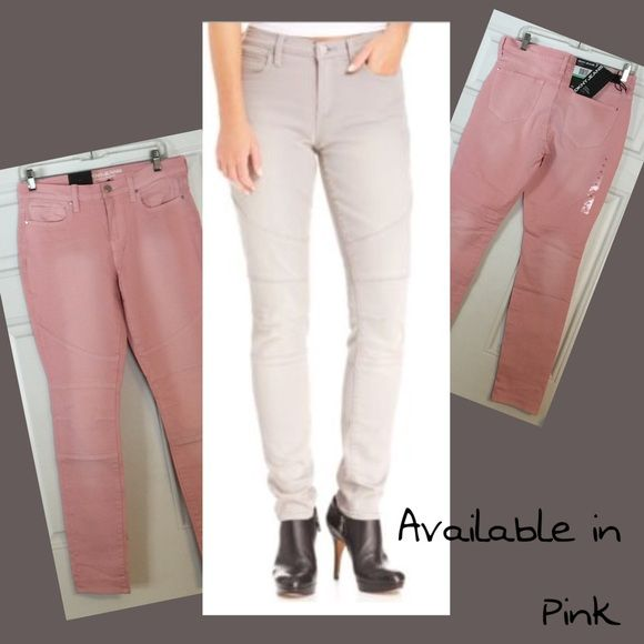 """NWT - 75% or More Off Retail Price! NWTUltra Skinny Sexy DKNY Jeans. Size 8. Made in China. 99% cotton. 1% spandex. Machine wash. Tumble dry. New with tag retail price $89.50. Waist 36"""" Hips 37"""" Front Rise 9.25"""" Back Rise 12.5"""". Thigh 20"""". Inseam 30"""". Leg Opening 5.75"""" DKNY Jeans Skinny"""