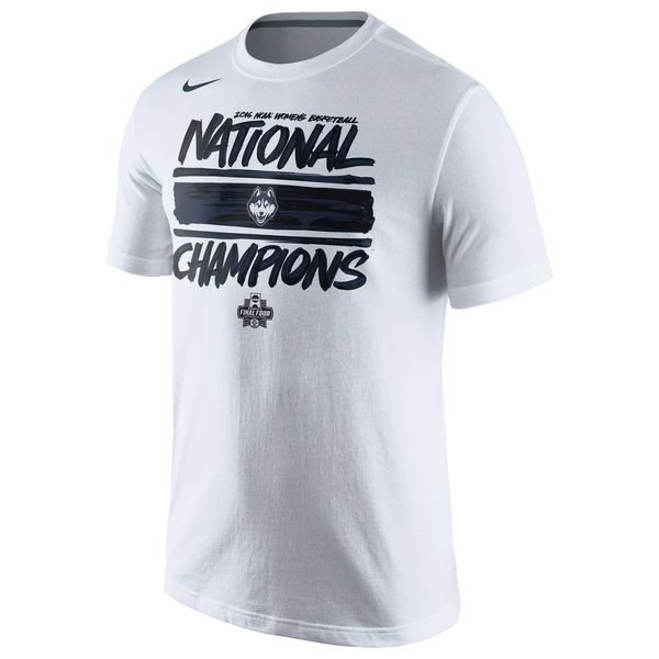 UConn Huskies Nike 2016 NCAA Women's Basketball National Champions Locker Room T-Shirt - White - $22.99
