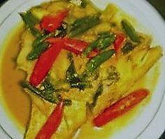 gulai ikan,gulai ikan masin,indische recepten,indisch eten,vis in kokosmelk,visrecepten,tilapia recepten,indonesische visrecepten,tilapia indonesisch