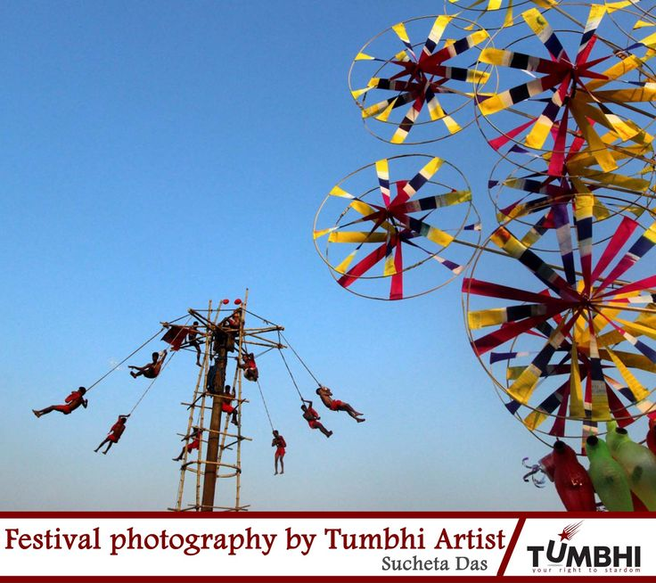 Glimpse of Indian Festivals through Tumbhi artist's shutter
