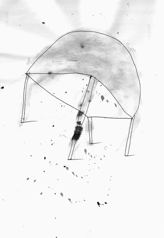 Csaba Pál, drawing 09, A/5