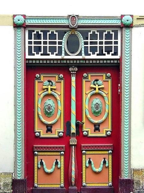~ Very colourful door ~