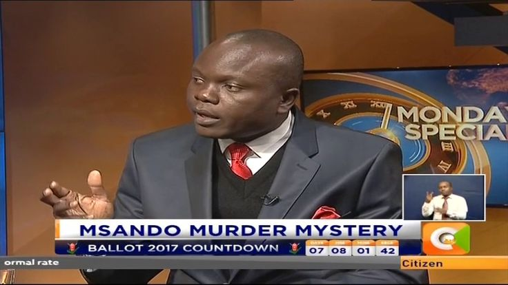 Monday Special : Msando Murder Mystery