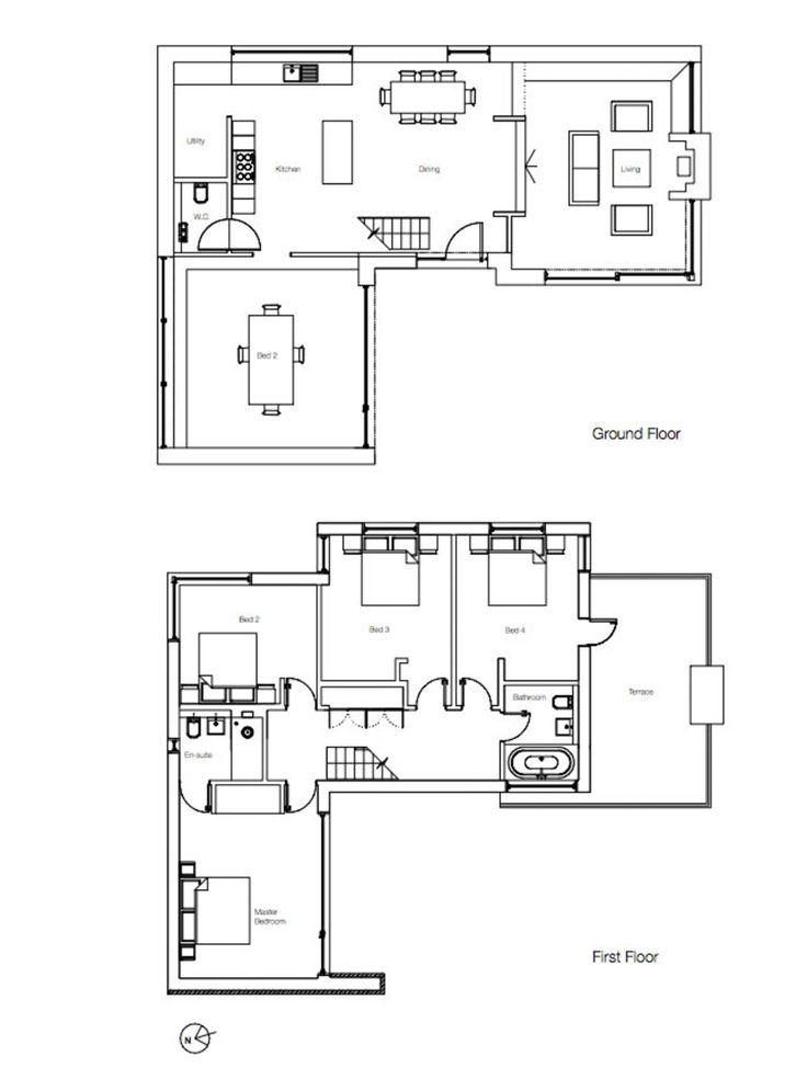 26 best 2D images on Pinterest | Architecture, Floor plans and ...