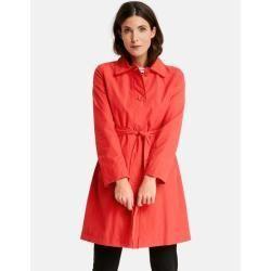 short coat with waist belt orange gerry weber belt coat gerry