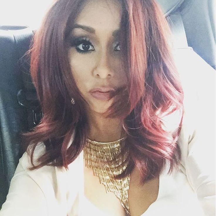 Swell 1000 Ideas About Snooki Hair On Pinterest Snooki Red Hair Short Hairstyles Gunalazisus