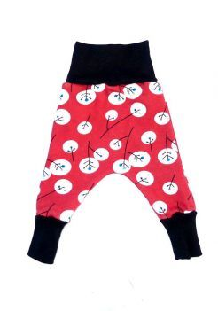 Baby harem pants fleece dandelion