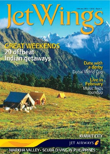 The inflight magazine of Jet Airways, Jetwings focuses on travel, lifestyle and culture. It reaches a very niche audience and releaseMyAd helps you to reach out to the same by providing excellent service.