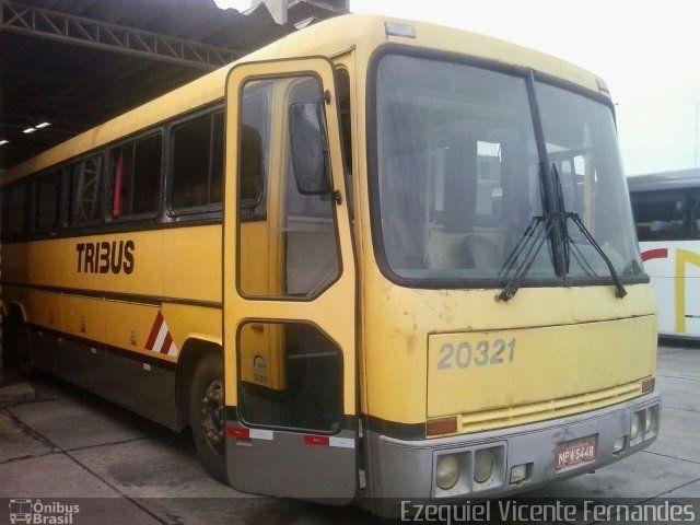 Ônibus da empresa Viação Itapemirim, carro 20321, carroceria Tecnobus Tribus III, chassi Itapemirim 2-12910-212. Foto na cidade de Rio de Janeiro-RJ por Ezequiel Vicente Fernandes, publicada em 24/10/2017 20:29:09.