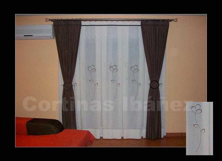 51 best cortinas y estores images on pinterest cute - Cortinas y visillos confeccionados ...