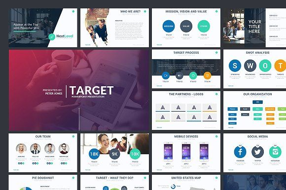 Target Powerpoint Template