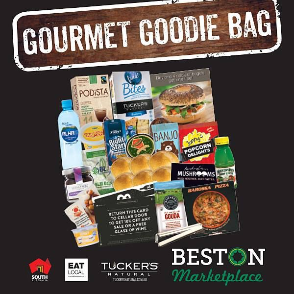 Attention all Royal Adelaide Show-Goers! We're featuring in the Foodland Gourmet Goodie Bag. You'll find one of our tasty Cheeseboard Pots as well as lots of other SA goodies inside. Stand 5, $20.  http://bit.ly/2c71JPB#Beerenberg #BeerenbergFarm #RoyalAdelaideShow #GourmetGoodieBag #ShowBag #ichoosesa