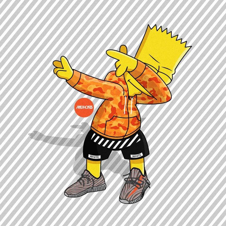 Glo Gang Iphone Wallpaper Mejores 81 Im 225 Genes De Bart En Pinterest Bart Simpson