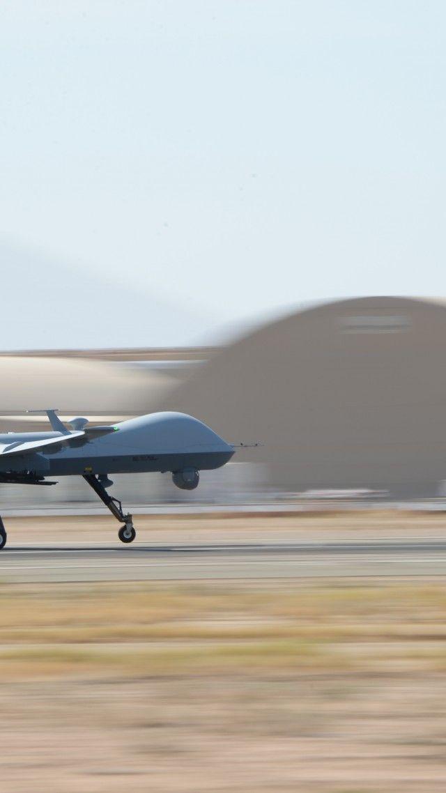 MQ-9 Reaper. MQ-9. drone. Combat. USA Army. landing | Military aircraft. Uav drone. Aircraft