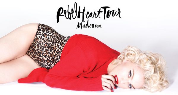 Madonna's 35 City 'Rebel Heart' Tour Announced for Nort America and Europe!